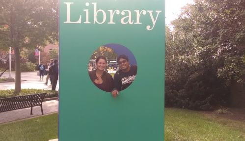 Awww...who loves the library? They do!