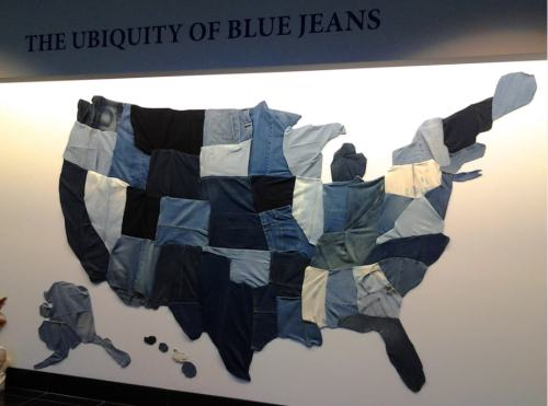 America celebrating Casual Friday by donning their denim